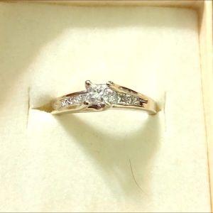 Jewelry - 💍💍💎💎BEAUTIFUL PRINCESS CUT DIAMOND RING 💍 💎